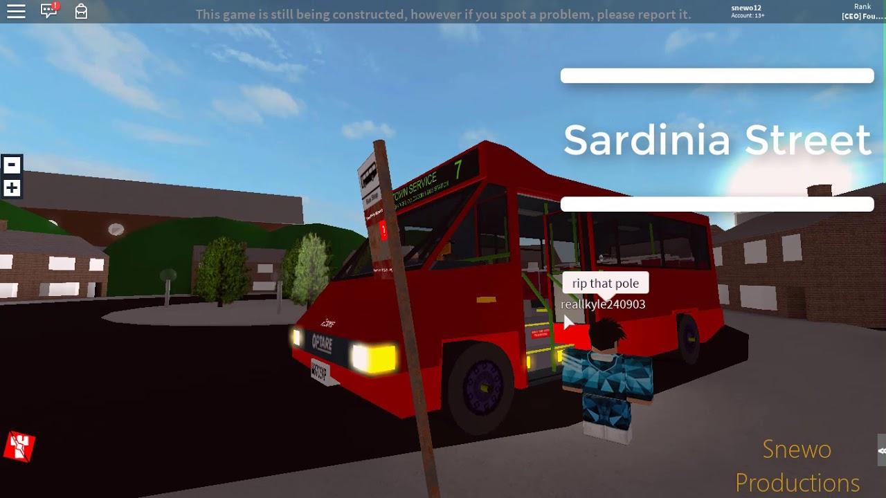 Roblox Bluefield Bus Simulator V1 3 Line 7 Optare Metrorider