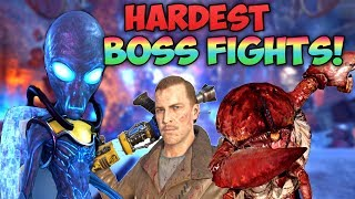 TOP 5 HARDEST BOSS FIGHTS IN CALL OF DUTY ZOMBIES! - CoD Zombies Top 5 List