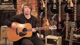 """Гитарное оборудование альбома """"Морская"""": акустическая гитара"""