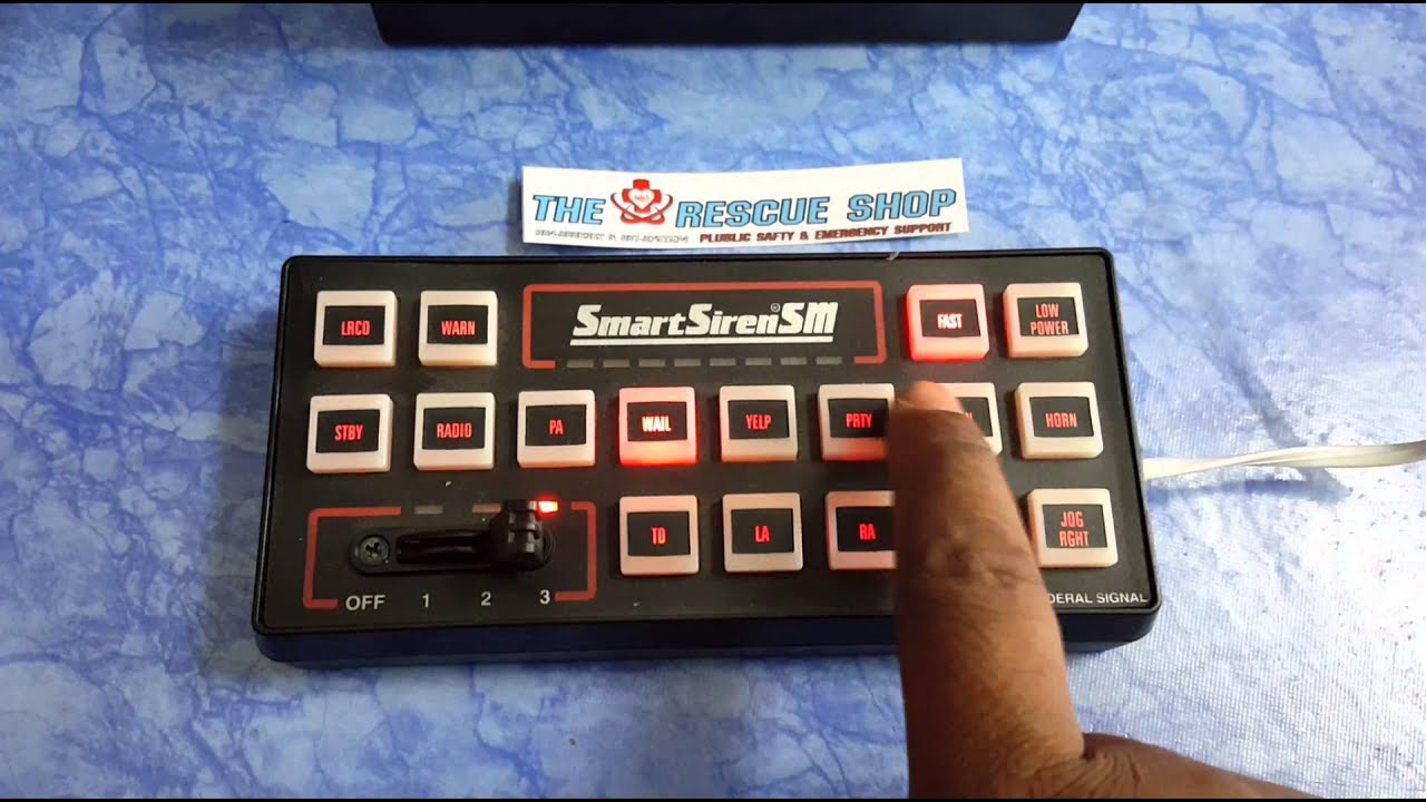 maxresdefault smart siren ss2000sm youtube ss2000sm wiring diagram at soozxer.org