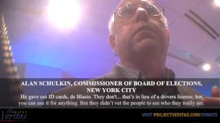 "HIDDEN CAM: NYC Democratic Election Commissioner, ""They Bus People Around to Vote"" thumbnail"