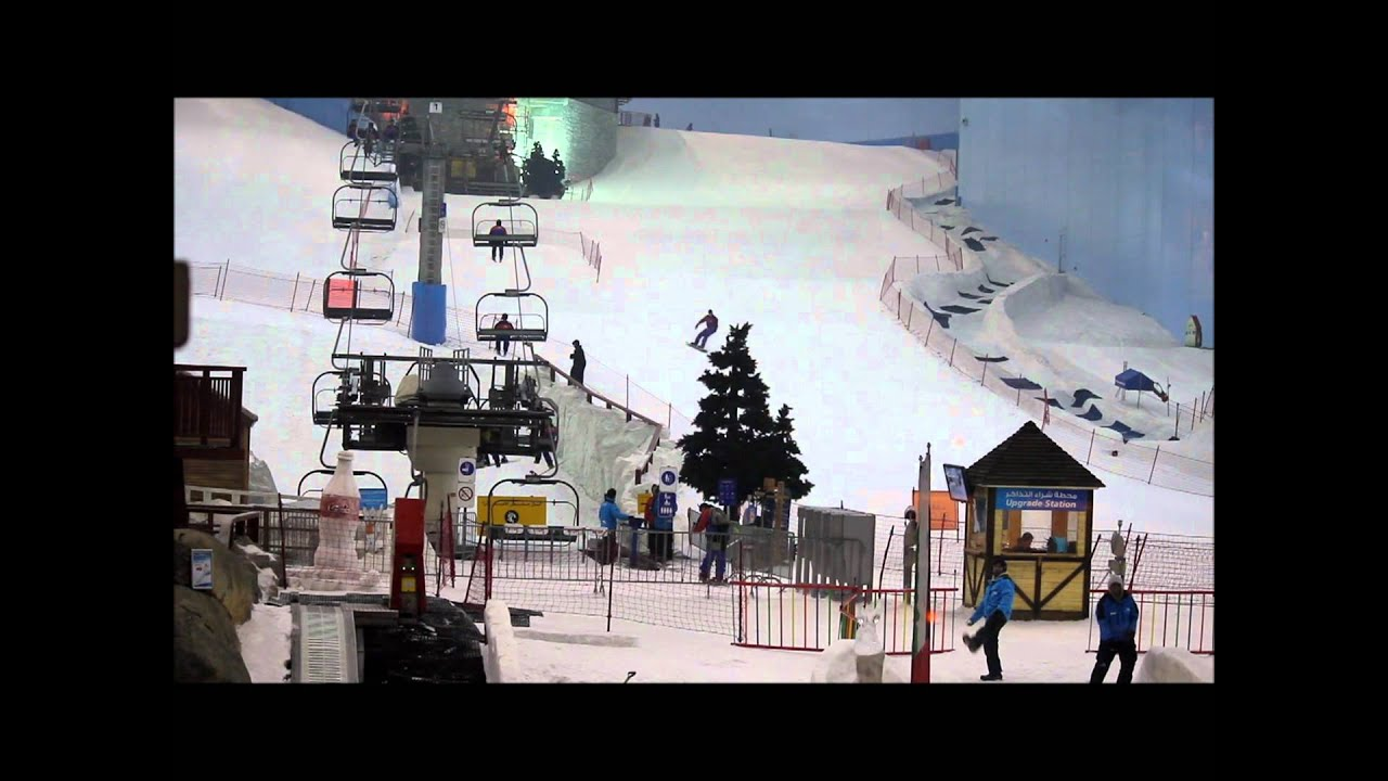 Ski Dubai At The Mall Of Emirates