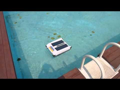 호텔펜션 수영장 태양열 자동청소로봇 솔라�