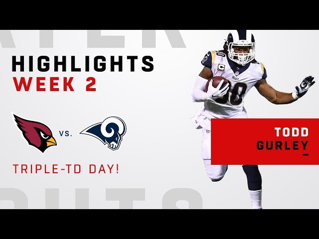 Todd Gurleys Triple-TD Day vs. Arizona!
