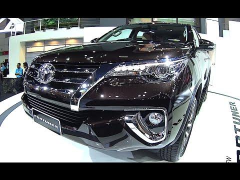 Обзор Внедорожники новый Toyota Fortuner 2016, 2017 модель, ТОП Внедорожники