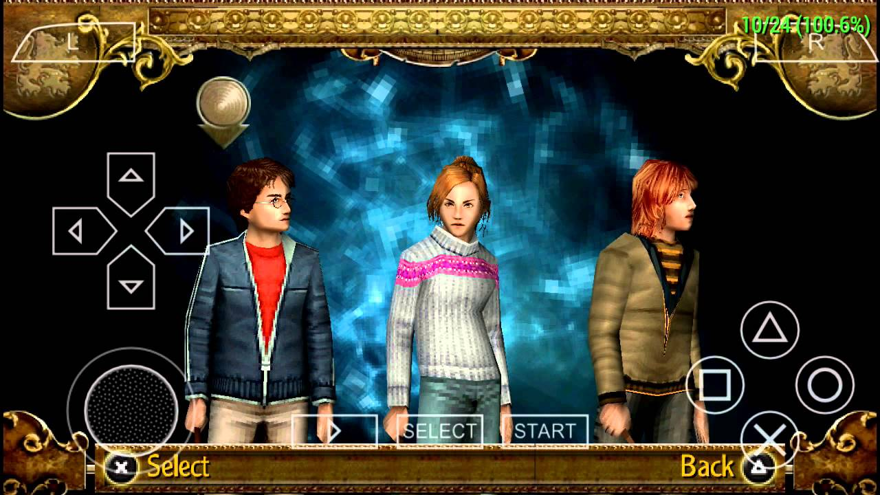 Harry Potter Y El Caliz De Fuego Ppsspp Android Pc Ios Enlace