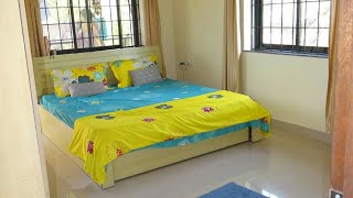 2 Bhk Semi Furnished Flat available for long term Rent In Mapusa Goa Near Galaxy Hospital