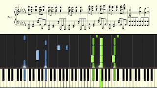 Take Back the Night - TryHardNinja - Piano/Synthesia/Sheet Music/Tutorial/How To