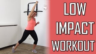 20 Minute Low Impact Cardio Workout – Low Impact Cardio Exercises For Total Body – No Equipment