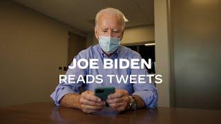 Joe Biden Reads Tweets | Joe Biden For President 2020