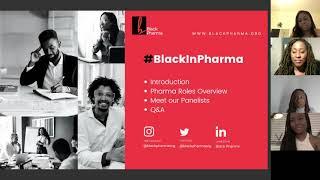 #BlackInPharma Webinar 26NOV2020