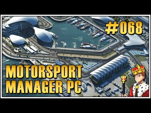 Let's Play Motorsport Manager PC 🏎 #068 - Doha GP (Gameplay|Deutsch|German)