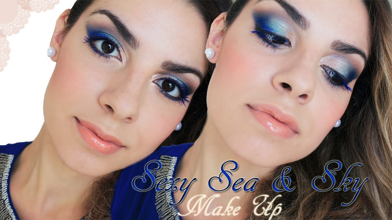 Favorito Make Up Tutorial (Da sera) : Sexy Sea & Sky - YouTube OO53