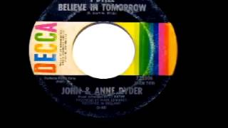 "John & Anne Ryder - ""I Still Believe In Tomorrow"""