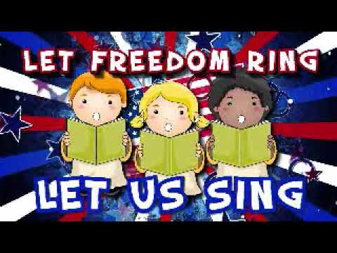 Let Freedom Ring (Lyric Video) | Let Freedom Ring [Simple Series for Kids]
