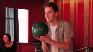 EXCLUSIVE: Bowling With BTR's Kendall Schmidt!