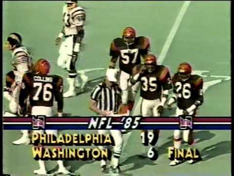 San Diego Chargers vs.Cincinnati Bengals, 1985