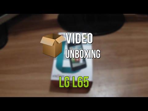 Unboxing - LG L65