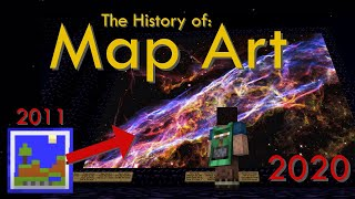 The History of Map Art - Minecraft/2b2t