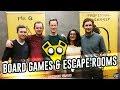 Draughts Board Games Café & Clue Quest Escape Room | London Vlog | February 2017