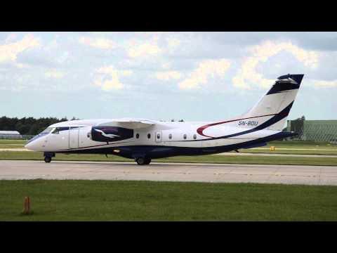 Air Peace   Dornier 328-310 JET   5N-BQU   23L Takeoff Manchester Airport   HD