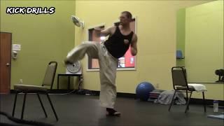 Black Belt Workout #4: Kick Drills for Flexibility, Accuracy, & Balance