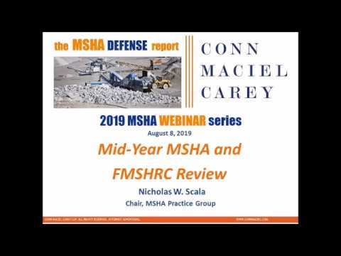 Mid-Year MSHA and