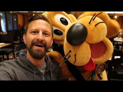 Adventures By Disney Day 2! | Character Breakfast, Walt Disney Studios, & Griffith Park Carousel!