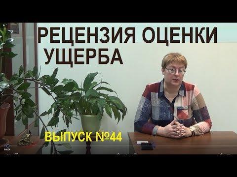 Рецензия оценки ущерба Выпуск №44 Спроси у эксперта