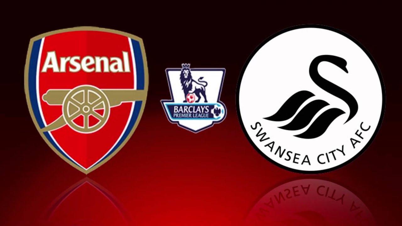 Image result for Arsenal vs Swansea City live pic logo