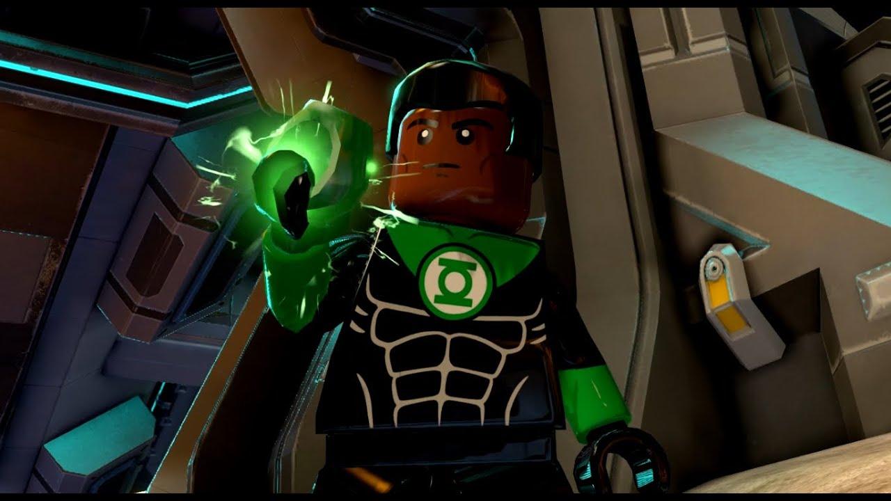 LEGO Batman 3: Beyond Gotham - Green Lantern John Stewart ...