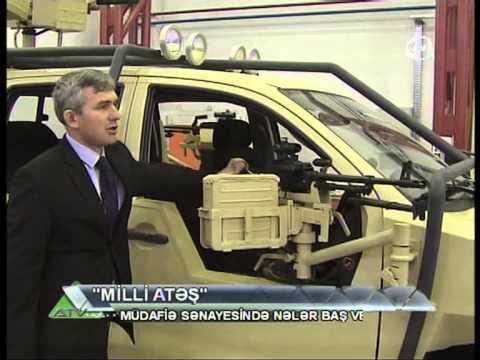 """Azerbaijan's """"Gurza"""" patrol vehicle - Toyota HİLOYX 12"""