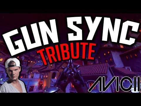 ♪ Avicii - Wake Me Up ♪ - Overwatch Gun Sync (Avicii Tribute)