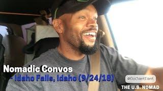 Nomadic Convos - Idaho Falls, Idaho (9/24/2018)