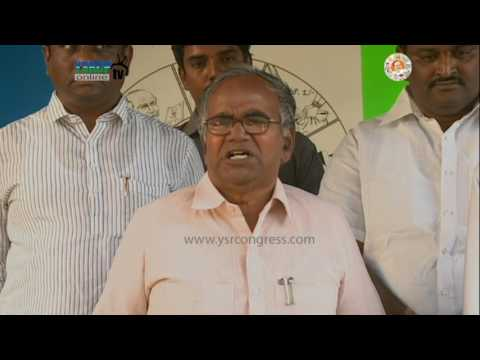 Ramu Surya Rao thanks YS Jagan on Extending His Support in MLC Elections - 20th Feb 2017