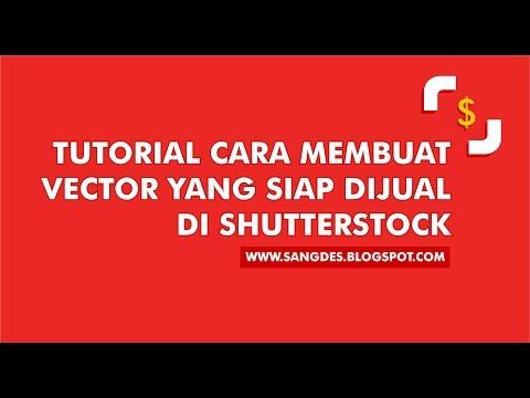 Tutorial Membuat Vector yang siap dijual di Shutterstock