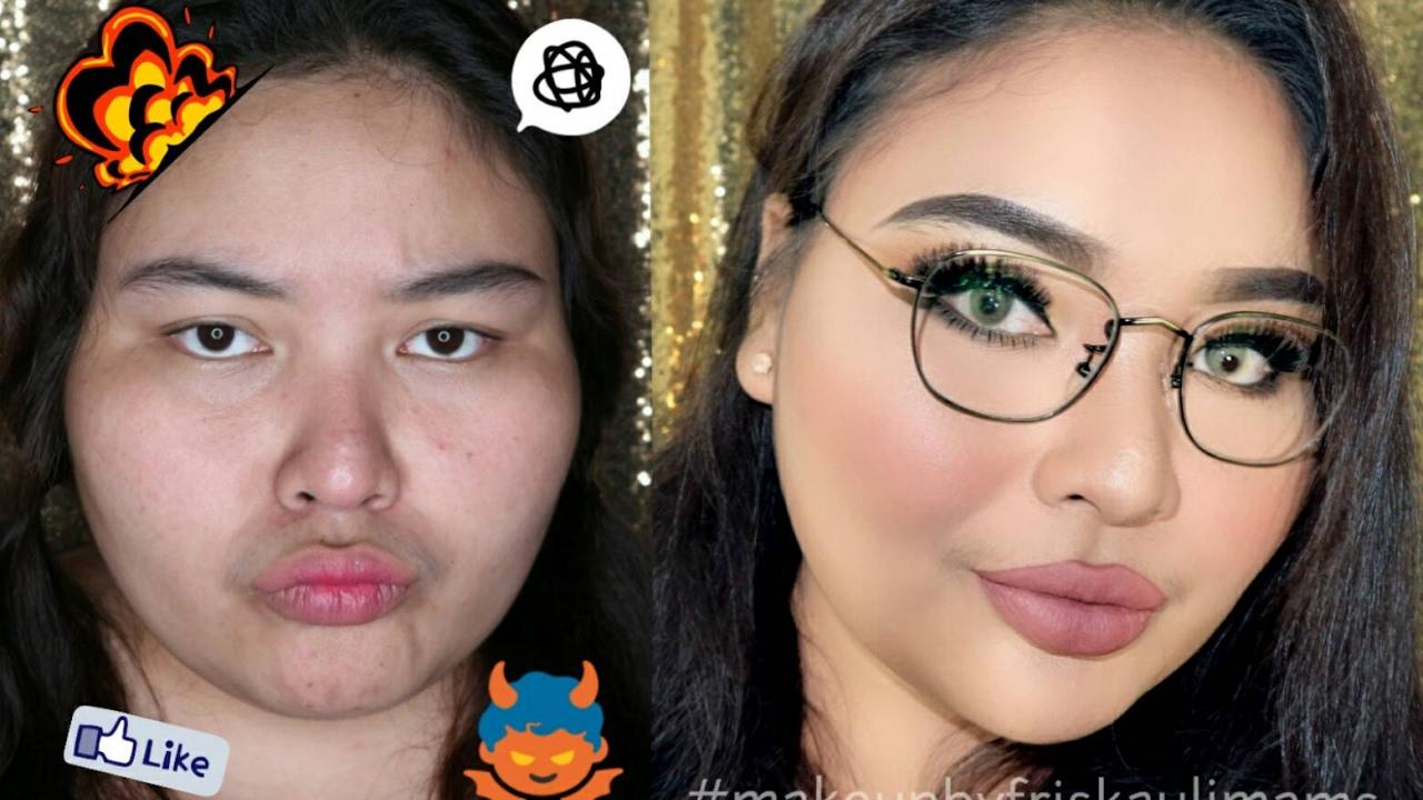 Cara Make Up Natural Untuk Wajah Bulat Dan Berminyak Saubhaya Makeup