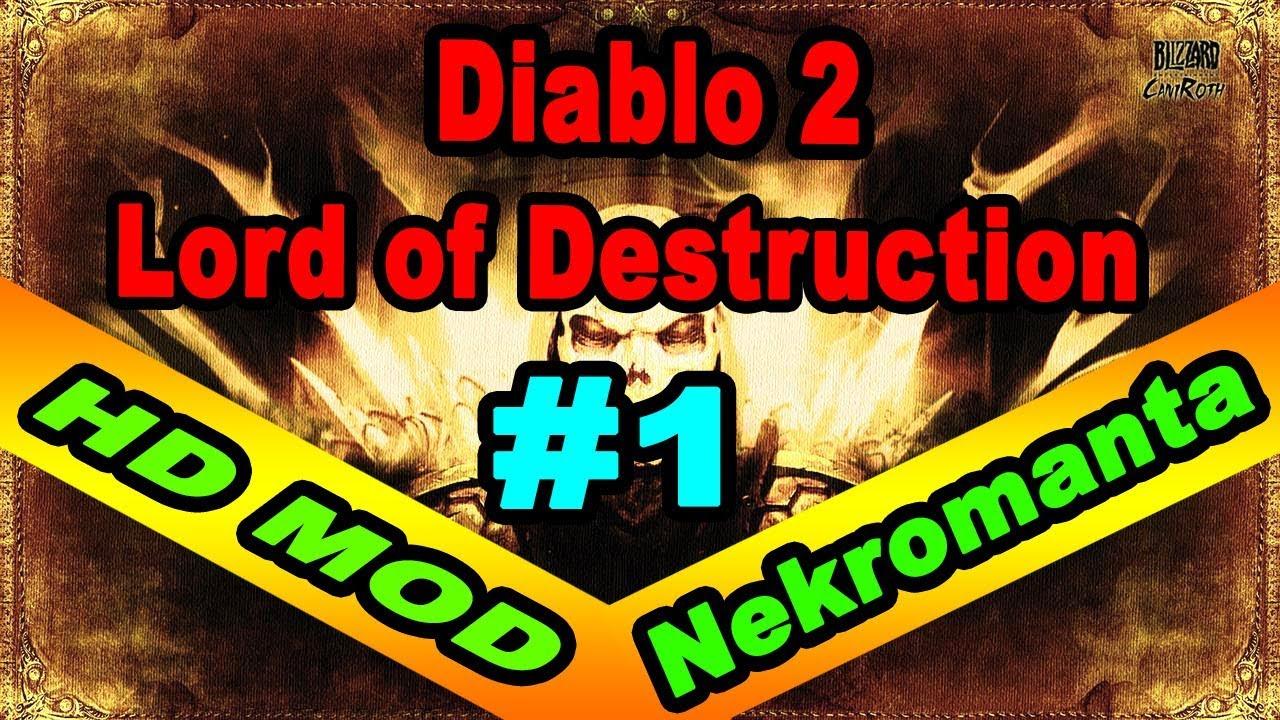 Zagrajmy w Diablo 2 LoD: HD MOD #1 Wiele nowości