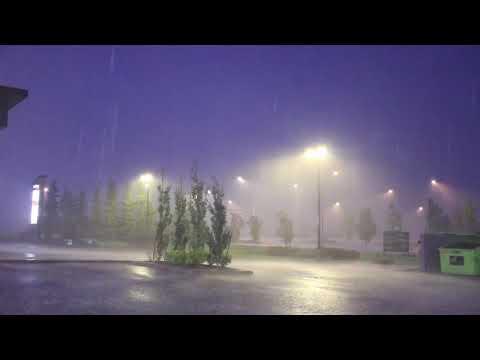 July 24 severe night storm: Leduc, Alberta