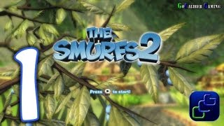 THE SMURFS 2 Walkthrough - Gameplay Part 1 - Enchanted Forest: Level 1 (PS3 XBOX 360 WII)