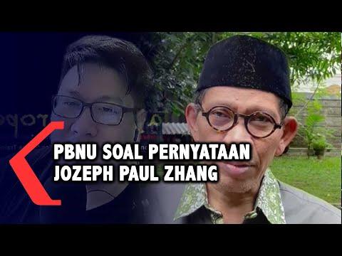 PBNU soal Pernyataan Jozeph Paul Zhang yang Diduga Menista Agama