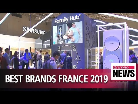Samsung Electronics selected as best brand by French consumers