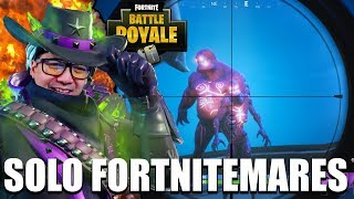 ZOMBIER I FORTNITE BATTLE ROYALE!?🙀 (solo fortnitemares)