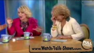 Joan Rivers Co-Hosts on The View - April 13, 2010