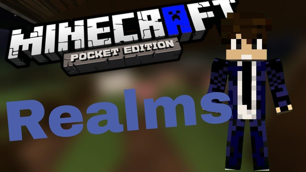 Minecraft Pocket Edition Kostenlos Auf Einem Realm Spielen Alle - Minecraft realms spielen