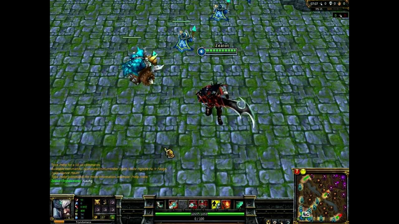 League of Legends Demonblade Tryndamere HD - YouTube