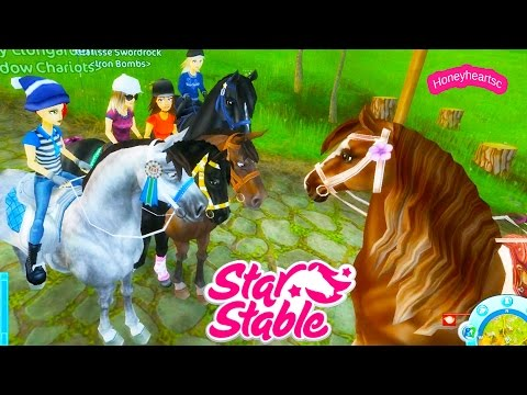 GPS - Star Stable Horses Game Let's Play with Honeyheartsc Part 5 Video Series