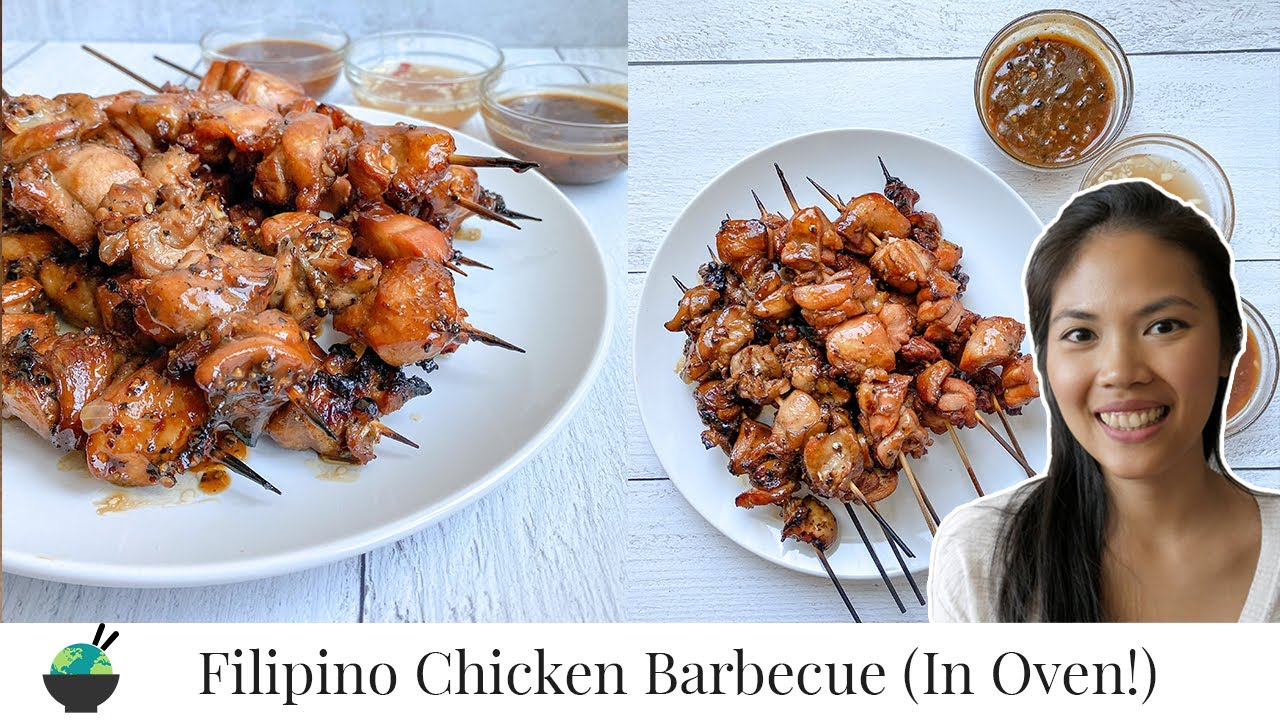 Filipino Chicken BBQ Recipe (In Oven)