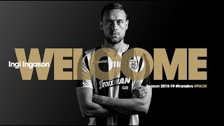 Ingi is here - PAOK TV