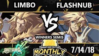 BnB 4 GGXRD - Flashnub (Sin) Vs. Limbo (Leo) - Guilty Gear XRD Rev 2 Winners Semis